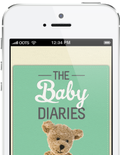 The Baby Diaries Baby App Preview Image