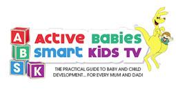 Active Kids, Smart Babies Logo